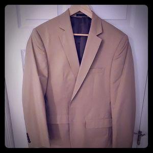 Jones New York sport coat. Tan 38R